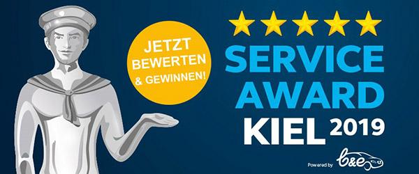 Service Award Kiel
